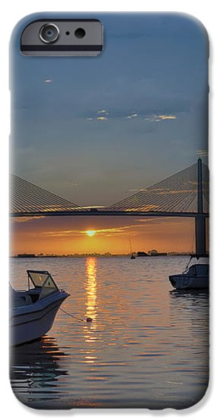 Something About a Sunrise iPhone Case by Bill Cannon
