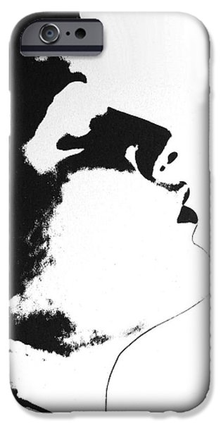 Inner Self Photographs iPhone Cases - Something In Mind iPhone Case by Rory Sagner