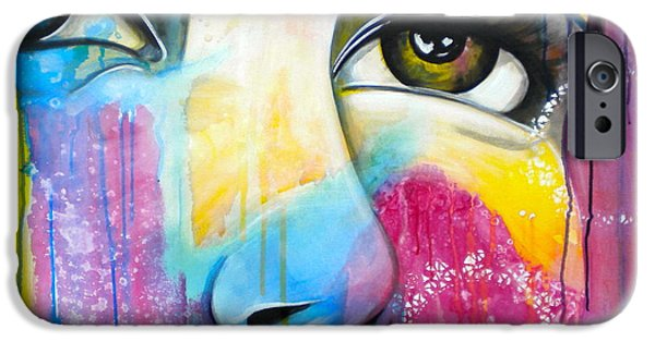 Drama Mixed Media iPhone Cases - Sometimes You Just know iPhone Case by Debi Starr