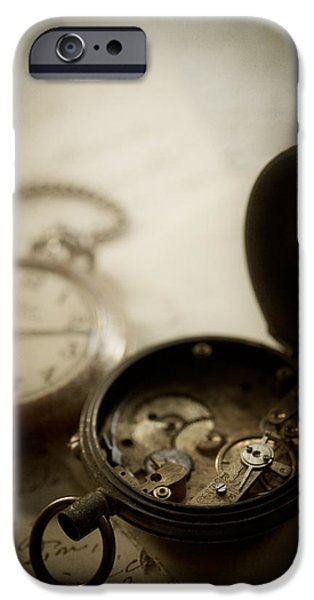 Interior Still Life iPhone Cases - Somewhere in Time iPhone Case by Amy Weiss