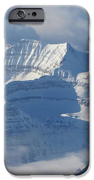 Somewhere Over the Rockies iPhone Case by Angie Vogel