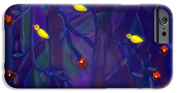 Christmas Greeting iPhone Cases - Sonata iPhone Case by Latha Gokuldas Panicker