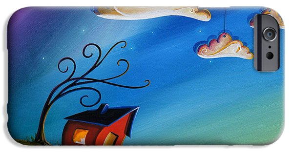 Dreamscape iPhone Cases - Song At Sunset iPhone Case by Cindy Thornton