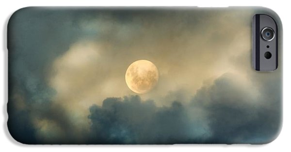 Close iPhone Cases - Song To The Moon iPhone Case by Georgiana Romanovna