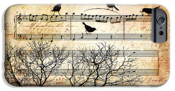 Bible iPhone Cases - Songbirds iPhone Case by Gary Bodnar