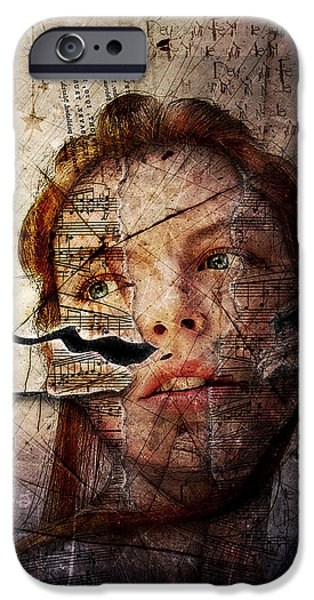 Piano iPhone Cases - Songs In The Night iPhone Case by Gary Bodnar