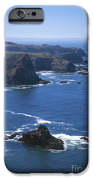 Ocean Of Emptiness iPhone Cases - Sonoma California iPhone Case by Chris Selby