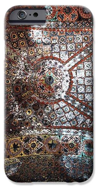 Sophia Ceiling Mural iPhone Case by John Rizzuto