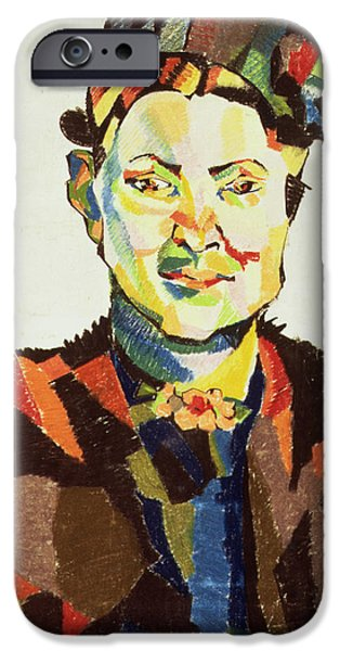 Portraits Drawings iPhone Cases - Sophie iPhone Case by Henri Gaudier-Brzeska