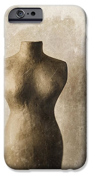 Femininity iPhone Cases - Sophistication II iPhone Case by Amy Weiss