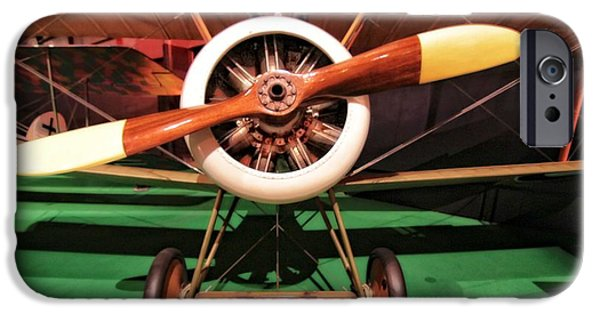 Airplane Photographs iPhone Cases - Sopwith Camel Airplane iPhone Case by Dan Sproul