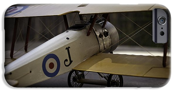 Ww1 iPhone Cases - Sopwith Camel iPhone Case by Jeremy Saltman