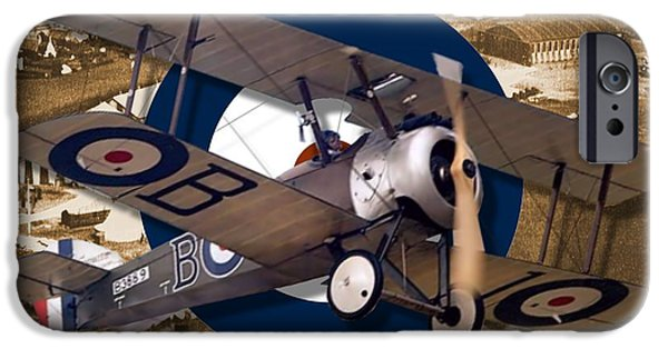 Wwi iPhone Cases - Sopwith Camel iPhone Case by Michael Colclough
