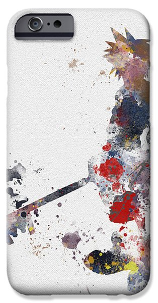 Destiny iPhone Cases - Sora iPhone Case by Rebecca Jenkins