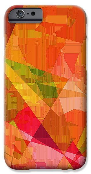 Business Digital Art iPhone Cases - Sorbet iPhone Case by Wendy J St Christopher