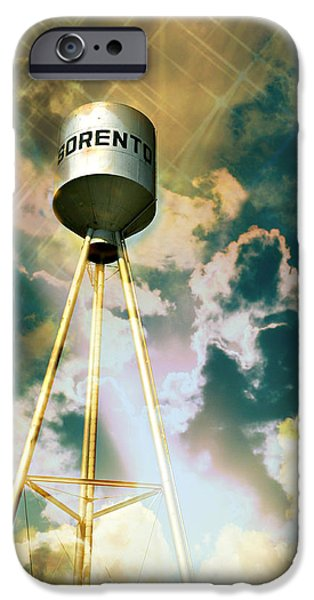 Sorento Illinois Tower iPhone Case by Marty Koch