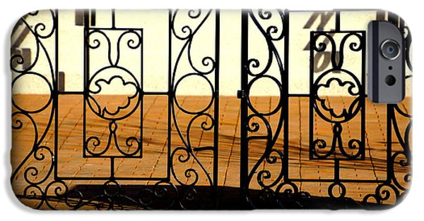 Built Structure iPhone Cases - Sorosis Gate iPhone Case by Laurie Perry