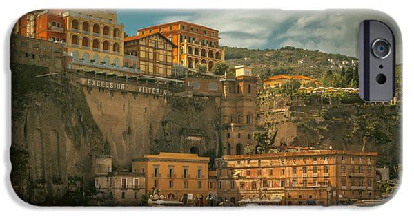 Fletcher iPhone Cases - Sorrento iPhone Case by Chris Fletcher