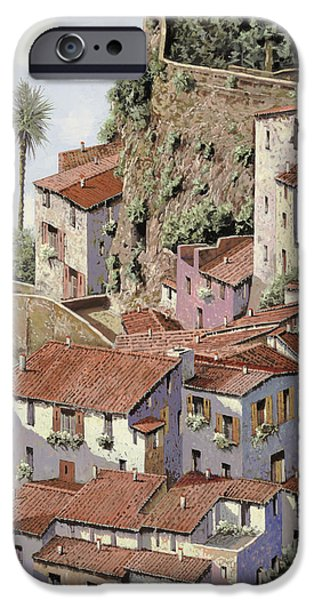 Fishermen iPhone Cases - Sorrento iPhone Case by Guido Borelli