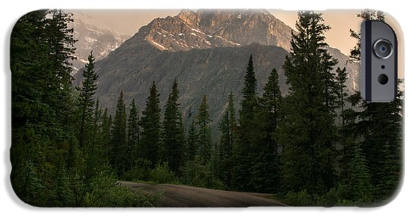 The Best Sunset iPhone Cases - Sorrow Peak  iPhone Case by Cale Best