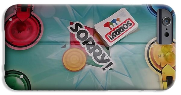 Recently Sold -  - Chip iPhone Cases - Sorry Board Game iPhone Case by Dan Sproul