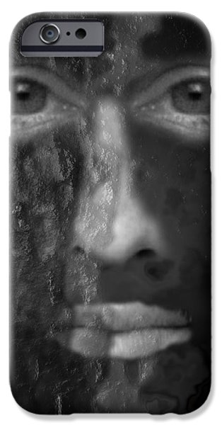 Soul Emerging iPhone Case by Michael Hurwitz