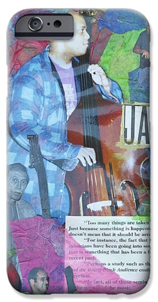 D.c. Mixed Media iPhone Cases - Soul of the Bass iPhone Case by C  Eugene Faucette