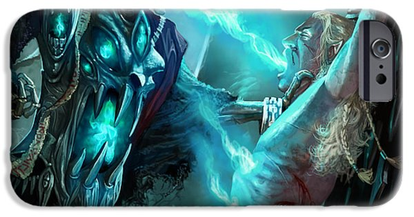 Ghoul iPhone Cases - Soulfeeder iPhone Case by Ryan Barger