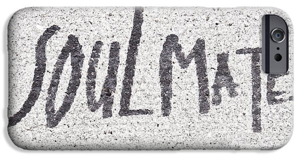 Vandalism iPhone Cases - Soulmate iPhone Case by Tom Gowanlock