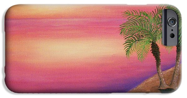 Recently Sold -  - Ocean Sunset iPhone Cases - Soulmates iPhone Case by Rivkah Singh