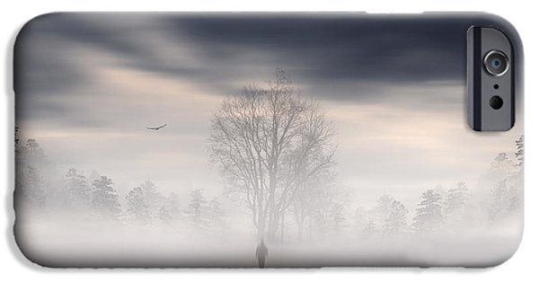 Pathway iPhone Cases - Souls Journey iPhone Case by Lourry Legarde