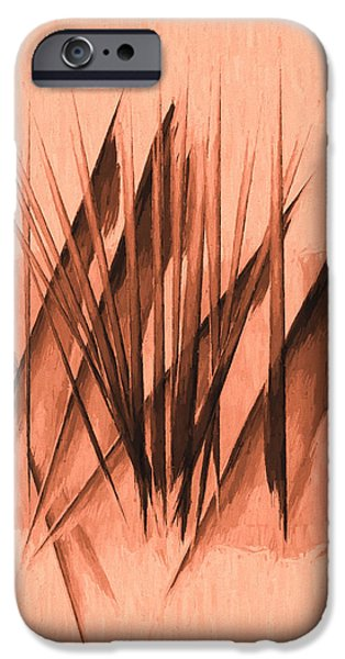 Nature Abstract iPhone Cases - Sounds of Spring iPhone Case by Bob Orsillo