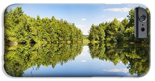Moo Moo iPhone Cases - Source Of The Neckar River iPhone Case by Panoramic Images