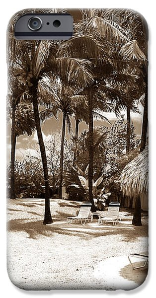 South Beach Life iPhone Case by John Rizzuto