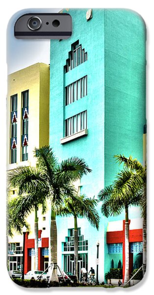 Michelle iPhone Cases - South Beach iPhone Case by Michelle Wiarda