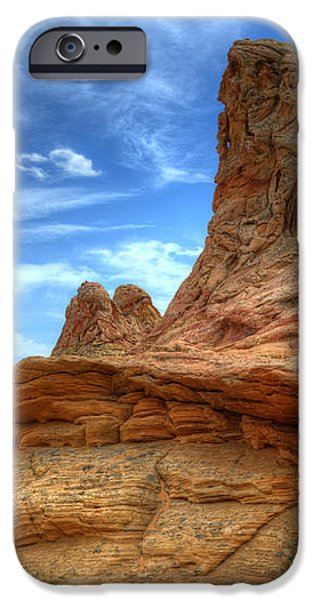 South Coyotte Buttes 8 iPhone Case by Bob Christopher