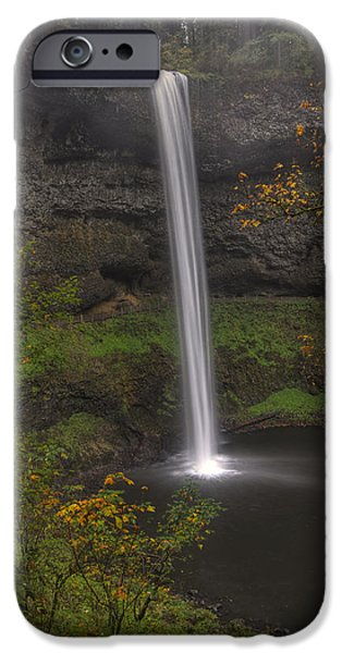 October iPhone Cases - South Falls 1  iPhone Case by Mark Kiver