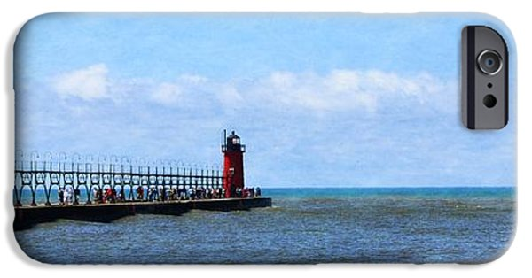 Michelle iPhone Cases - South Haven Channel iPhone Case by Michelle Calkins