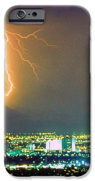 South Mountain Lightning Strike Phoenix AZ iPhone Case by James BO  Insogna
