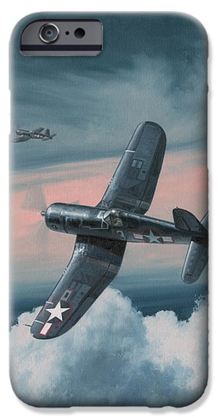 Aviator iPhone Cases - South Pacific Hot Rods iPhone Case by Wade Meyers