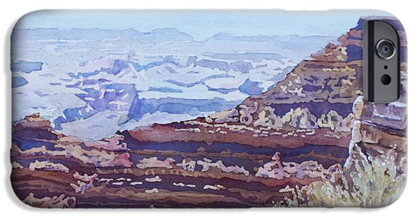 Grand Canyon iPhone Cases - South Rim Color iPhone Case by Jenny Armitage