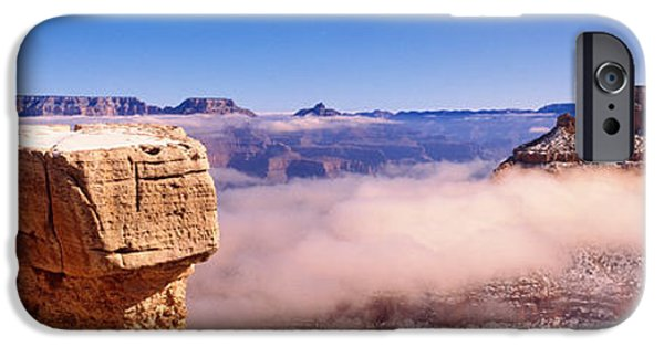 South Rim iPhone Cases - South Rim Grand Canyon National Park iPhone Case by Panoramic Images