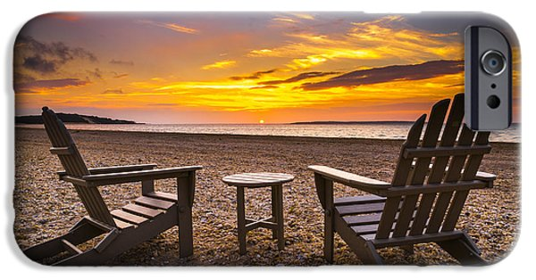 York Beach iPhone Cases - Southampton Shores View for 2 iPhone Case by Ryan Moore
