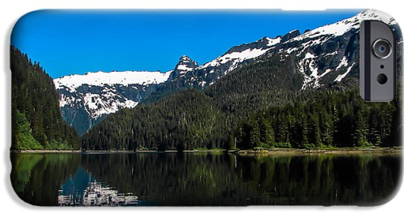 Tongass iPhone Cases - Southeast  Alaska iPhone Case by Robert Bales