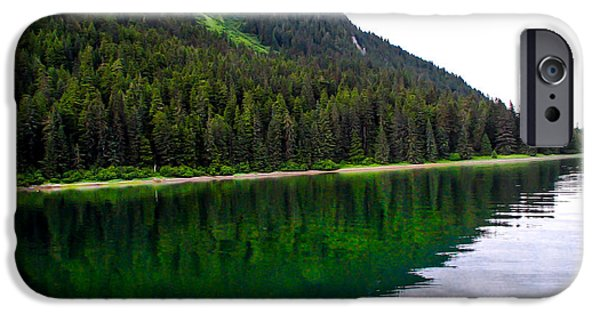 Tongass iPhone Cases - Southeast Shoreline iPhone Case by Robert Bales