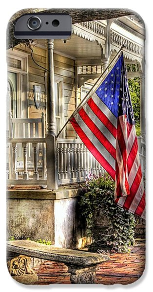 Recently Sold -  - Patriotism iPhone Cases - Southern Charm iPhone Case by Benanne Stiens