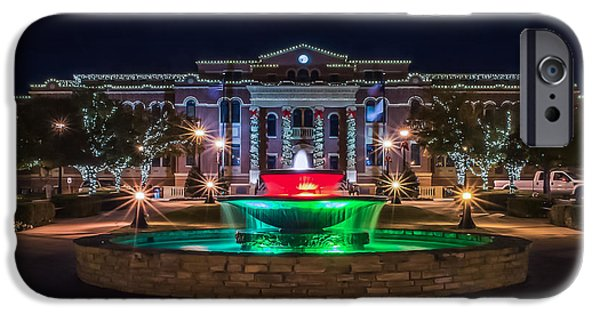 Print Photographs iPhone Cases - Southlake Christmas iPhone Case by Dado Molina