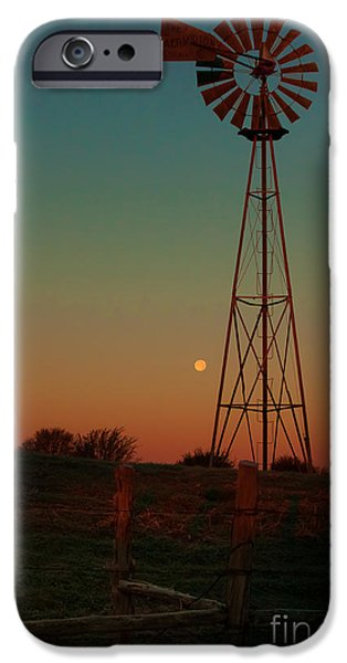Moonscape iPhone Cases - Southwest Morning iPhone Case by Robert Frederick