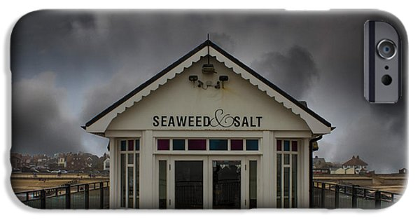 North Sea iPhone Cases - Southwold Pier Suffolk iPhone Case by Martin Newman