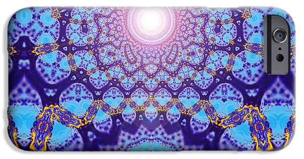Psychedelic iPhone Cases - Space iPhone Case by Aeres Vistaas